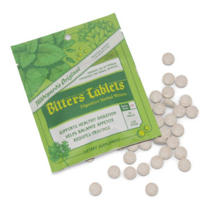 A package of Hildegard's Original Bitters Tablets