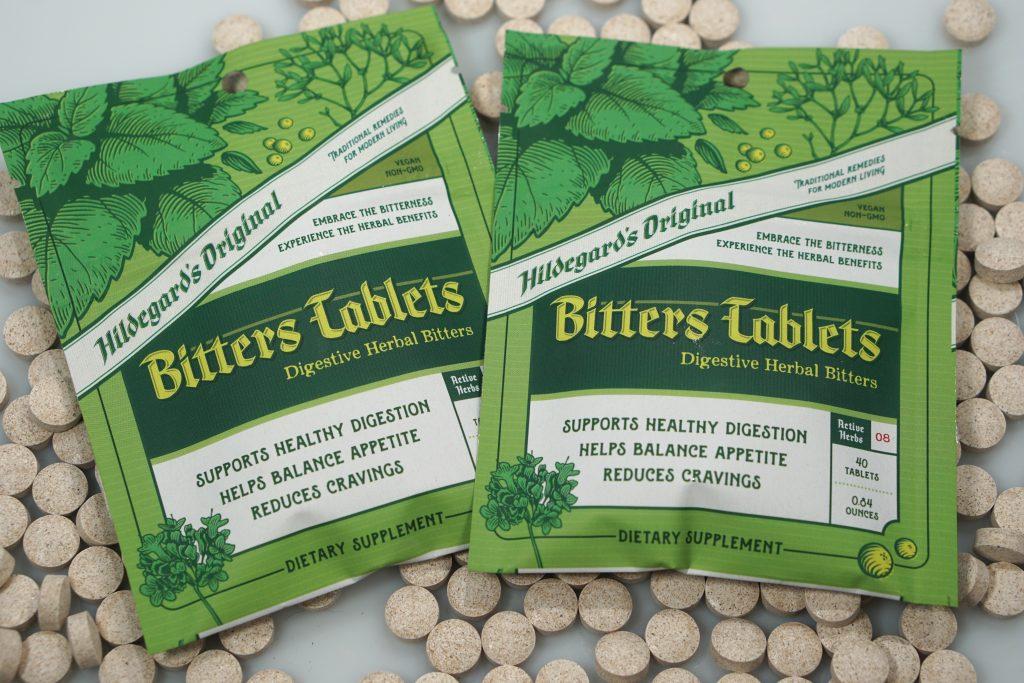 Two packs of Hildegard's Original Bitters Tablets